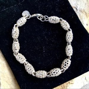 Jewelry - Sterling silver pineapple lantern bracelet